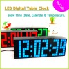 9.3Inch Blue Table Clock