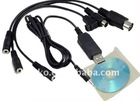 Flight USB Cable Transmitter XTR RC Simulator cable