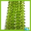 wholesale oblate glass beads olivine color