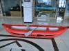 (CE) 2 passenger 0.9 pvc inflatable river boat canoe 360