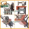 Antique Sewing Machine Desktop Clock D01212o