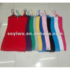 STOCK Women Girl Lace Trim Stretech Cotton Camis Tank Top 1354371