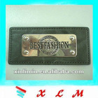 metal decoration leather label