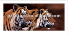 2013 latest 3D tiger poster for home decoration with PEP PP PS material