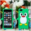 sample order and oem order welcome penguin case for iphone 5 5G