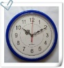 Round shape wall clock, 10 inch plastic wall clock