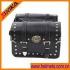 leather motorcycle luggage bag,motorcycle leather saddle bag
