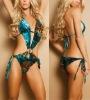 hot transparent swimwear bikini for ladies