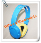 TF card style MP3 player headphone with various color