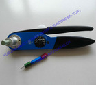 Adjustable aviation crimp tool HDT 4800