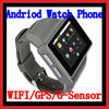 Watch Mobile With Android 2.2 OS /WIFI/GPS/G-sensor GPS Tracker