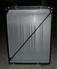 48mm aluminum benz actros radiator