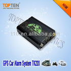 2 way gps burglar Car alarm systemTK220