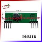High anti-jamming super heterodyne RF receiver module