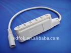 6Fold Mini AMP Distributor with DC Socket for 12-30V LED Lights