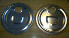 Steel lids and bottoms for 20L tin can
