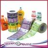 print label adhesive sticker matte lamination