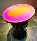 2012 hot sale Surfloor led liquid tea table