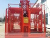 SC100/100 frequency conversion hoist with twin cage construction of elevator