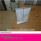 table top mini roll up banner stand