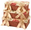silk fabric storage boxes, gift boxes,