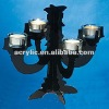 Promotional Festival glass candle holder