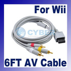 1.8m AV Cable for Nintendo Wii