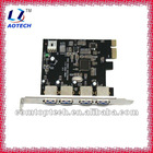 2012 new 4-port USB3.0 PCI card