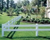 PVC ranch fencing