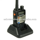 5W 128CH UHF + VHF DTMF Dual Band Dual Frequency Offset IP65 Waterproof Two-Way Radio Walkie Talkie Interphone