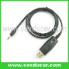 Transceiver programming cable for Icom two way radio