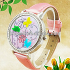 stylish Polymer clay watches ladies with beautiful flower designs