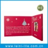 Video greeting card christmas