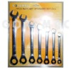 7pcs/set ratchet spanner