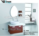 stainless steel mirrored bathroom cabinets LL7
