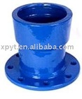 Push on joint ductile iron fitting-flange socket