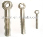 DIN/ANSI/ASME copper plated eye bolt