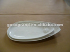 Stock white porcelain Plate