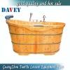Good quality wood bathtubs spa bath barrel