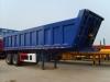 2 axle tipper semi-trailer