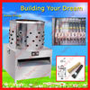 Stainless steel full automatic small poultry chicken dehairing Machine/0086-15838028622