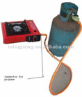 DOUBLE USE PORTABLE GAS STOVE MADE-IN-CHINA (BDZ-155-BL)
