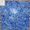 ceramic mosaic, pebble shape mosaic