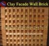 Red Clay Wall Brick Facade Brick