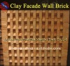 Red Clay Wall Brick Facade Brick
