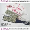 Pedicure plastic foot file with pumice stone (SNL037)