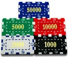 New ABS Poker Chip Plaques