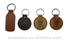 Promotioanl leather and pvc key chains