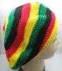 Handmade Knit Rasta reggae Tam Hat Beanie Cap RH001
