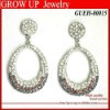 2012 fashionable wholesale rhinestone earrings